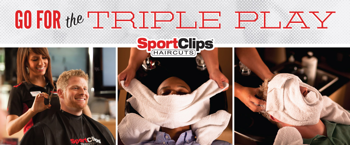 The Sport Clips Haircuts of Montgomery Triple Play